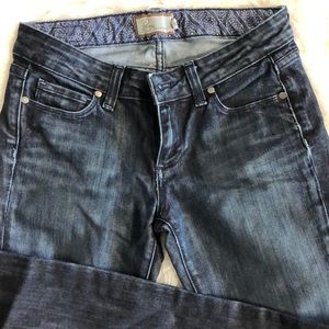 DENIM STRAIGHT LEG JEANS 26